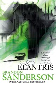 Elantris by Brandon Sanderson book cover