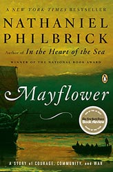 Mayflower by Nathaniel Philbrick book cover
